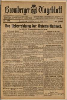 Bromberger Tageblatt. J. 43, 1919, nr 137