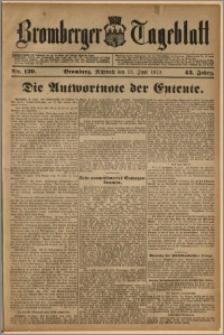 Bromberger Tageblatt. J. 43, 1919, nr 139
