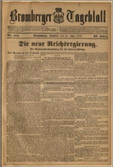 Bromberger Tageblatt. J. 43, 1919, nr 144