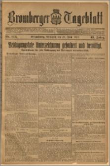 Bromberger Tageblatt. J. 43, 1919, nr 145