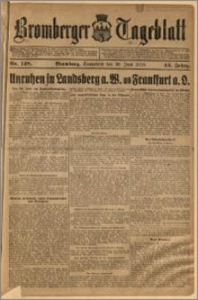 Bromberger Tageblatt. J. 43, 1919, nr 148