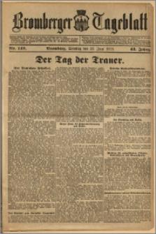 Bromberger Tageblatt. J. 43, 1919, nr 149