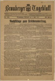 Bromberger Tageblatt. J. 43, 1919, nr 151