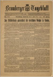 Bromberger Tageblatt. J. 43, 1919, nr 152