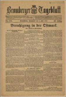 Bromberger Tageblatt. J. 43, 1919, nr 154