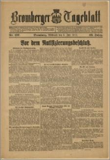 Bromberger Tageblatt. J. 43, 1919, nr 157
