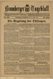 Bromberger Tageblatt. J. 43, 1919, nr 160