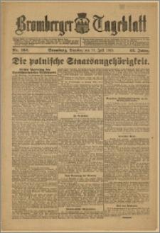 Bromberger Tageblatt. J. 43, 1919, nr 162