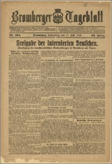 Bromberger Tageblatt. J. 43, 1919, nr 164