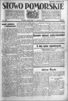 Słowo Pomorskie 1921.06.04 R.1 nr 124