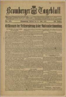 Bromberger Tageblatt. J. 43, 1919, nr 171
