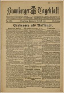 Bromberger Tageblatt. J. 43, 1919, nr 173