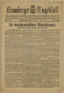 Bromberger Tageblatt. J. 43, 1919, nr 174