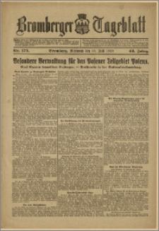 Bromberger Tageblatt. J. 43, 1919, nr 175