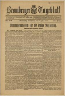 Bromberger Tageblatt. J. 43, 1919, nr 176