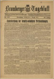 Bromberger Tageblatt. J. 43, 1919, nr 177