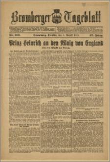 Bromberger Tageblatt. J. 43, 1919, nr 180