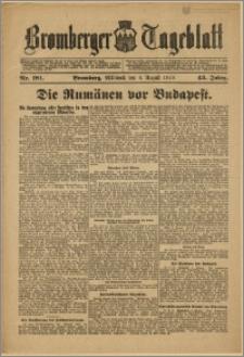 Bromberger Tageblatt. J. 43, 1919, nr 181