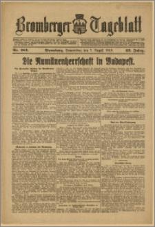Bromberger Tageblatt. J. 43, 1919, nr 182