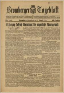Bromberger Tageblatt. J. 43, 1919, nr 184