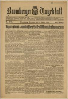 Bromberger Tageblatt. J. 43, 1919, nr 186