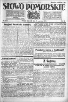 Słowo Pomorskie 1921.06.05 R.1 nr 125