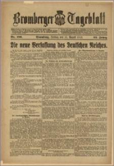 Bromberger Tageblatt. J. 43, 1919, nr 189