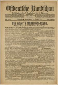 Bromberger Tageblatt. J. 43, 1919, nr 192