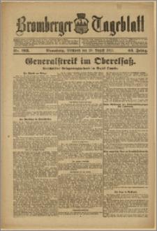 Bromberger Tageblatt. J. 43, 1919, nr 193