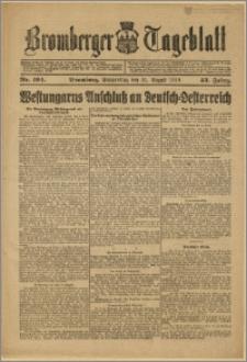 Bromberger Tageblatt. J. 43, 1919, nr 194
