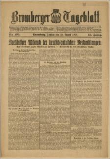 Bromberger Tageblatt. J. 43, 1919, nr 195