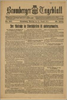 Bromberger Tageblatt. J. 43, 1919, nr 197