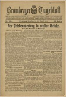 Bromberger Tageblatt. J. 43, 1919, nr 198