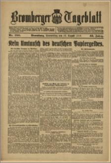 Bromberger Tageblatt. J. 43, 1919, nr 200