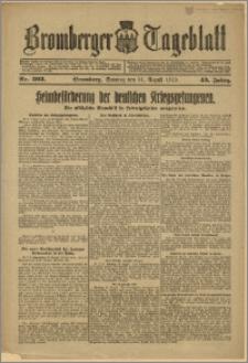 Bromberger Tageblatt. J. 43, 1919, nr 203