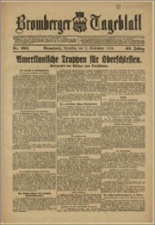 Bromberger Tageblatt. J. 43, 1919, nr 204