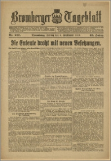 Bromberger Tageblatt. J. 43, 1919, nr 207