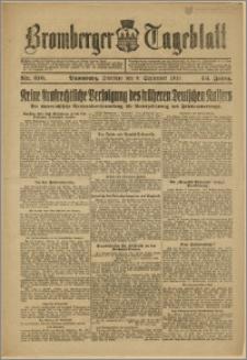 Bromberger Tageblatt. J. 43, 1919, nr 210