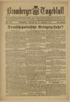 Bromberger Tageblatt. J. 43, 1919, nr 211