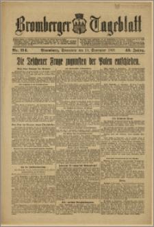 Bromberger Tageblatt. J. 43, 1919, nr 214