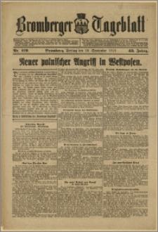 Bromberger Tageblatt. J. 43, 1919, nr 219