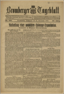 Bromberger Tageblatt. J. 43, 1919, nr 220