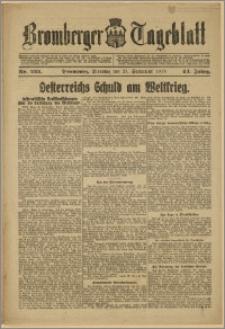 Bromberger Tageblatt. J. 43, 1919, nr 222