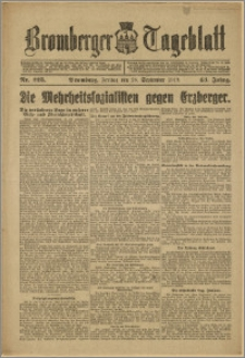 Bromberger Tageblatt. J. 43, 1919, nr 225