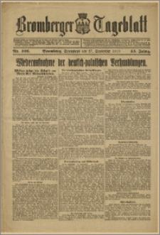 Bromberger Tageblatt. J. 43, 1919, nr 226