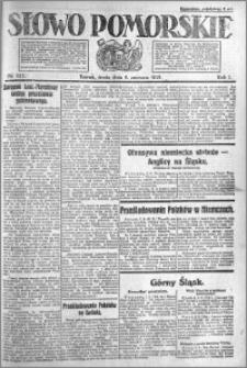 Słowo Pomorskie 1921.06.08 R.1 nr 127