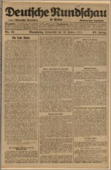 Deutsche Rundschau in Polen. J. 45, 1921, nr 17