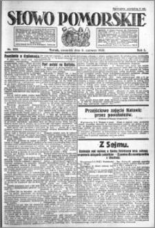 Słowo Pomorskie 1921.06.09 R.1 nr 128
