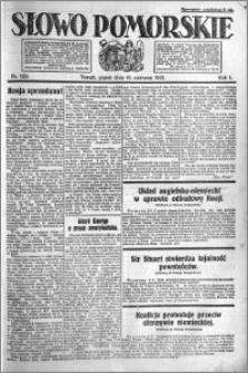 Słowo Pomorskie 1921.06.10 R.1 nr 129