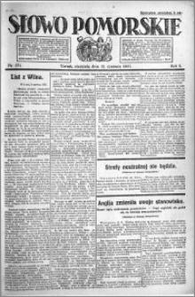 Słowo Pomorskie 1921.06.12 R.1 nr 131